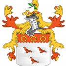 Cooper Coat of Arms in Cross Stitch PATTERN CHART FAMILY NAME HERALDRY