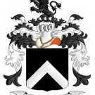 Cook Coat of Arms in Cross Stitch PATTERN CHART FAMILY NAME HERALDRY