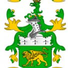 Collins Coat of Arms in Cross Stitch PATTERN CHART FAMILY NAME HERALDRY