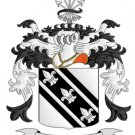 Cole Coat of Arms in Cross Stitch PATTERN CHART FAMILY NAME HERALDRY