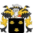 Brooks Coat of Arms in Cross Stitch Pattern Chart
