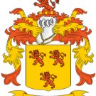 Bennett Coat of Arms in Cross Stitch