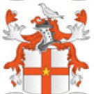 Adams Coat of Arms in Counted Cross Stitch PATTERN CHART FAMILY NAME HERALDRY