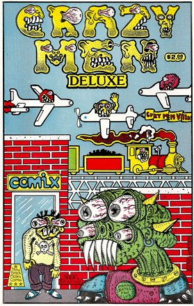 CRAZY MEN DELUXE Comix (Signed by Artist)