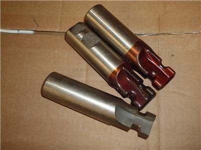 Lot of 3 Roto Burr HSS Tools 1-1/4 Dia. 5 Inches OAL
