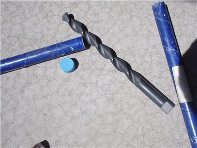 2 NEW Old Stock 22 mm .8661 Convoflute Core Drills TRW