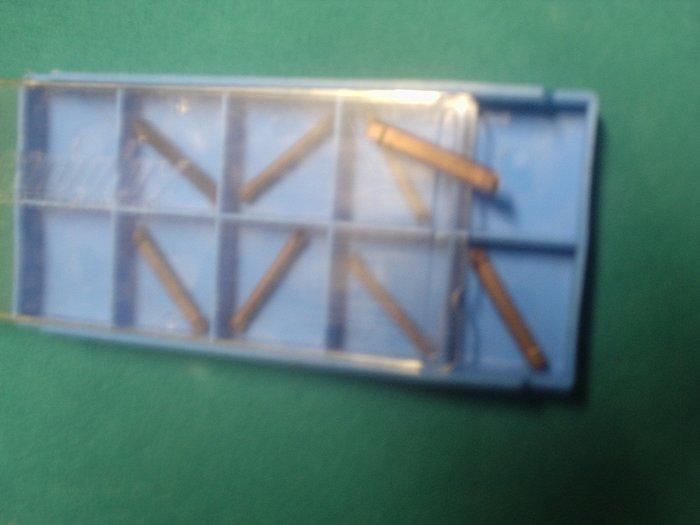GTN 125 D8 Grade 883 Carboloy Inserts Lot of 8 Pieces