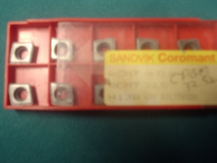 CPGM 32.52 Sandvik Carbide Inserts Box of 10