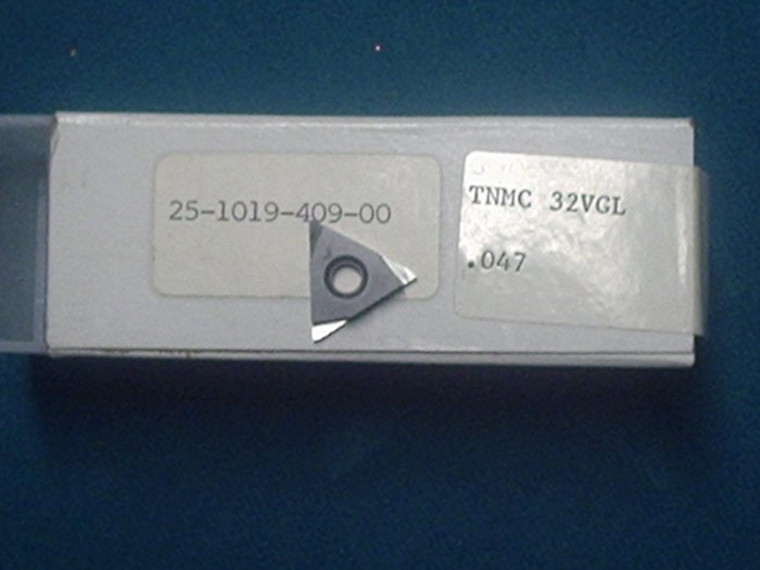 TNMC 32 VGL .047 Threading Carbide Inserts Box of 10