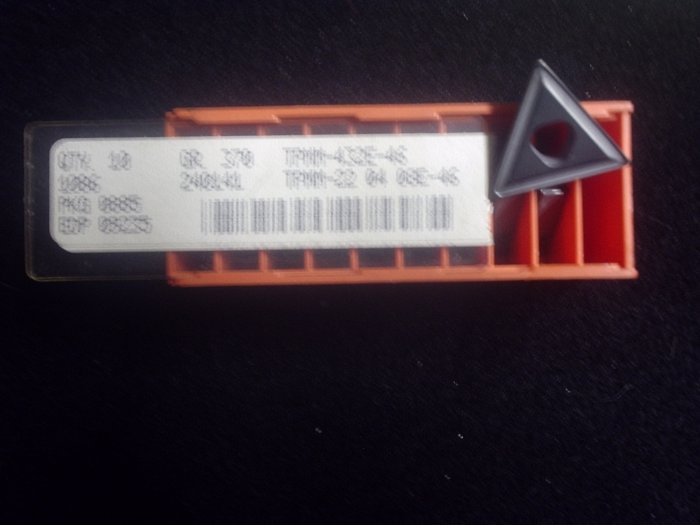 Carboloy TPMM 432 E-46 Grade 370 Carbide Inserts