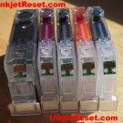 IP4500 MX850 - 5 reset OEM Canon Chips Cli-8 cyan, black, magenta, yellow & Pgi-5 black