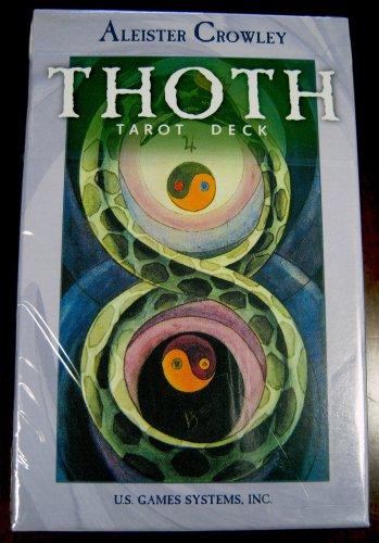 Crowley Thoth Tarot Deck, Belgium NEW instruction booklet