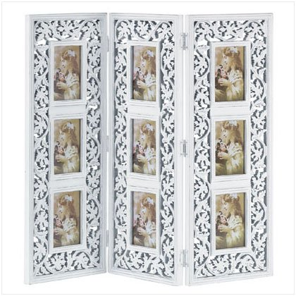 Ornate Multi-Frame Photo Screen