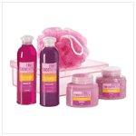 Red Pomegranite Bath Set