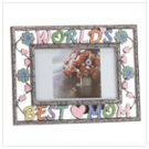 "Colorful ""World's Best Mom"" Frame"
