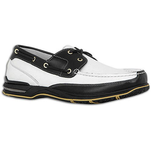 ROCKPORT SCHOONER WHITE/BLACK # APM2650X