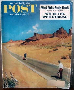 The Saturday Evening Post September 2, 1961