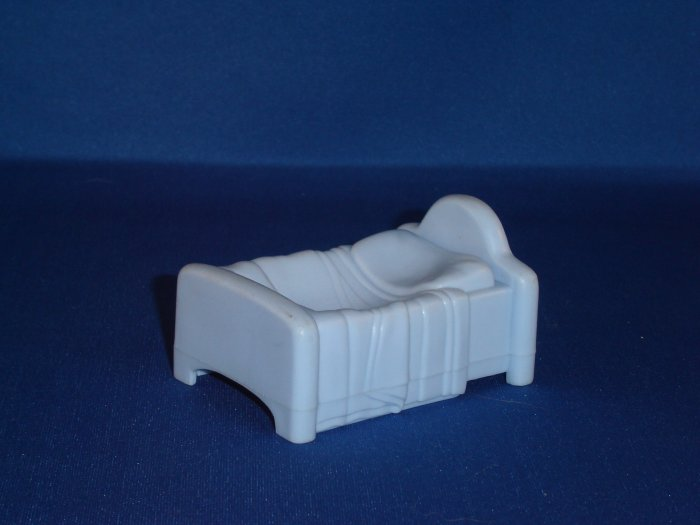 1996 Fisher Price Little People Blue Twin Sized Bed