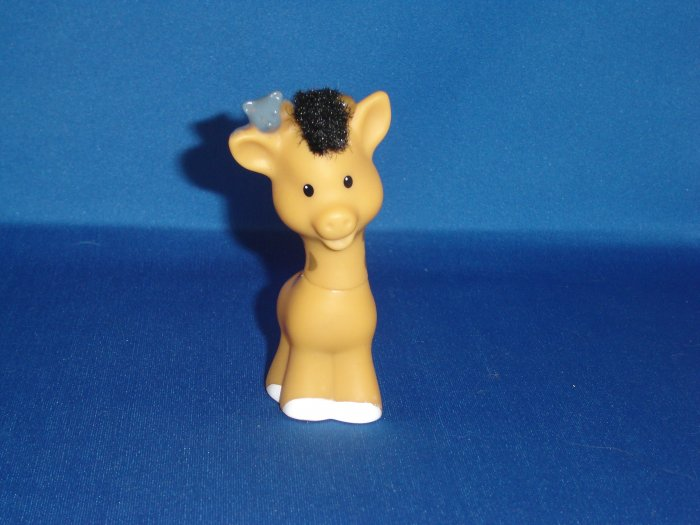 Fisher Price Little People Touch And Feel Giraffe Newer FP LP Great For Zoo or Ark