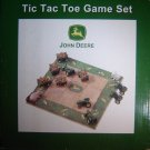 John Deere Tic Tac Toe Game Set With Tractors and Wagons for Indoor or Outdoor Use