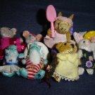 10 Mattel Furryville Animals Kangaroo Duckinghams Finnegans Bunningtons Micebergs Bearyweathers