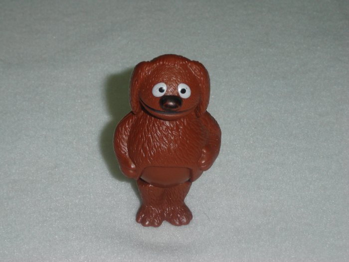 Vintage Fisher Price Muppets ROWLF DOG Moveable PVC Figure From Jim Henson Associates 1976 to 1978