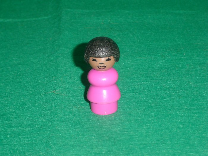 Vintage Fisher Price Little People Susan From The 938 Sesame Street Set
