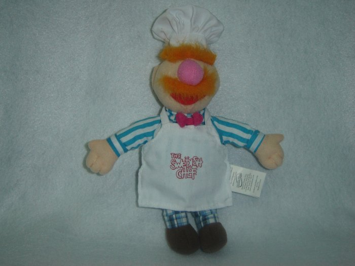 2004 Jim Henson Company Plush Muppets Swedish Chef Doll Figure By Sababa Toys 10 Inches