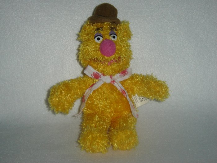 2004 Jim Henson Company Plush Muppets Fozzie Bear Doll Figure By Sababa Toys 9 Inches