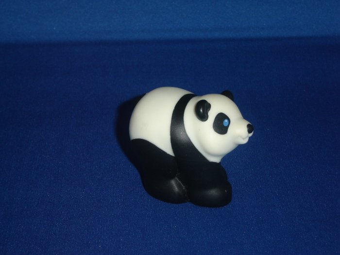2002 Fisher Price Little People Black and White Panda Bear for Noahs Ark or Zoo Newer FP LP