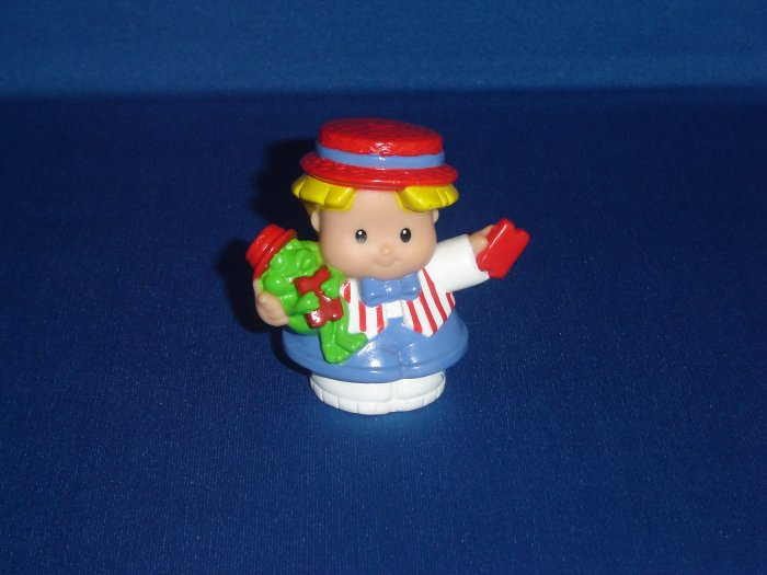 2003 Fisher Price Little People Red White and Blue Carnival Eddie Newer FP LP