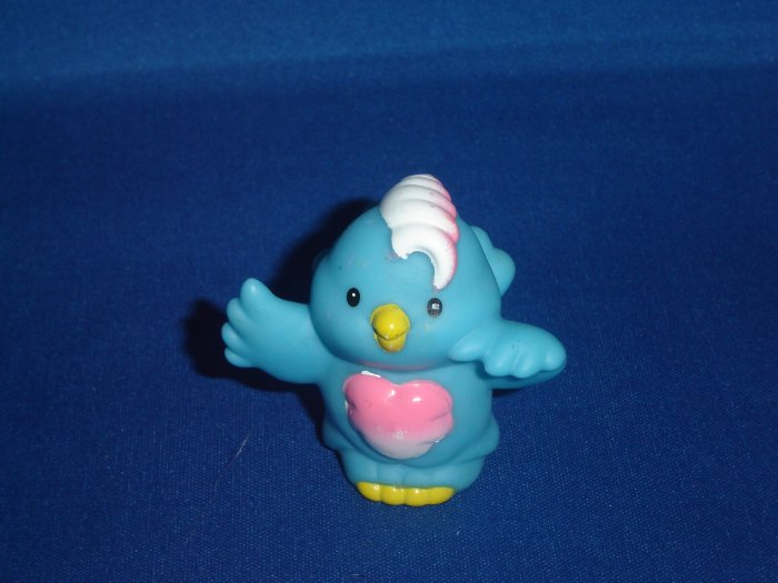 2001 Fisher Price Little People Blue Bird For Zoo or Ark Newer FP LP