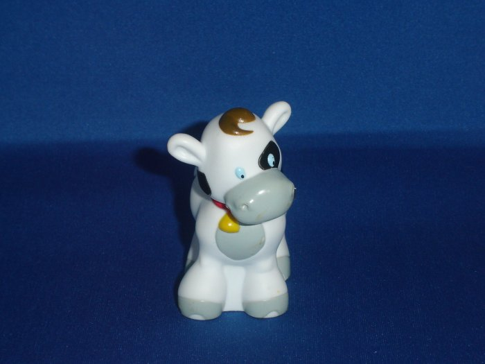 Little Tikes Chunky Toddle Tots White Spotted Cow Great For Zoo
