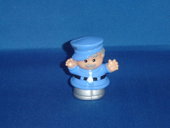 2000 Fisher Price Little People Patrick the Policeman Officer For School Newer FP LP