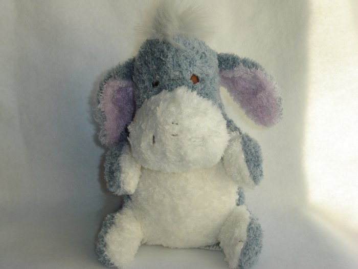 Walt Disney Store Exclusive Cuddle Tot Plush EEYORE from Winnie the Pooh 9 Inch Beanie Doll Toy