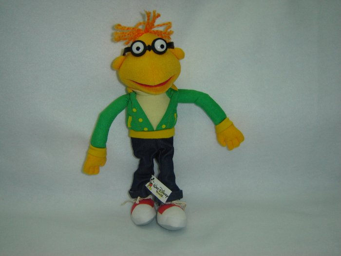 Jim Henson Productions Plush Muppets Scooter Doll Figure Disney Muppet Vision 3D 12 Inches