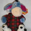 New Disney Store Exclusive Holiday Morning Plush EEYORE from Winnie the Pooh Winter Christmas Toy