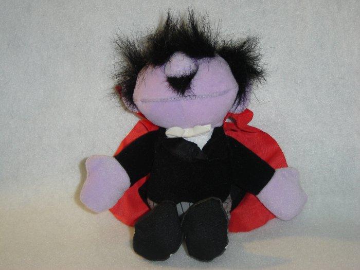 1997 New Jim Henson Muppets Sesame Street AMAZING MUMFORD MAGICIAN Plush Beanie 8 Inches W Tags Tyco