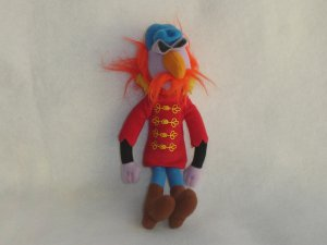 Jim Henson Muppet Collection FLOYD Electric Mayhem Band Plush Doll Sababa