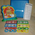 Fisher Price Barnyard Bingo With Hard Blue Case Complete