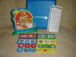 Fisher Price Barnyard Bingo With Hard Blue Case Complete