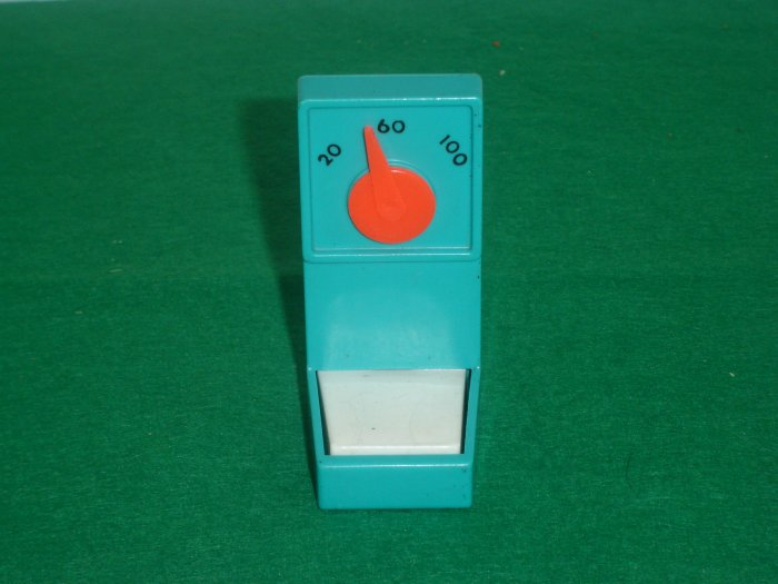 Vintage Fisher Price Little People Childrens Hospital 931 Aqua Blue WORKING Scale