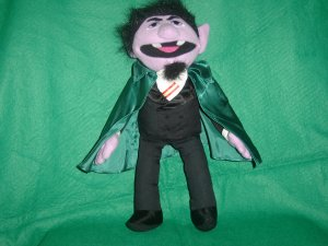 Applause 1993 Jim Henson Muppets Sesame Street THE COUNT Plush 13 Inch Toy