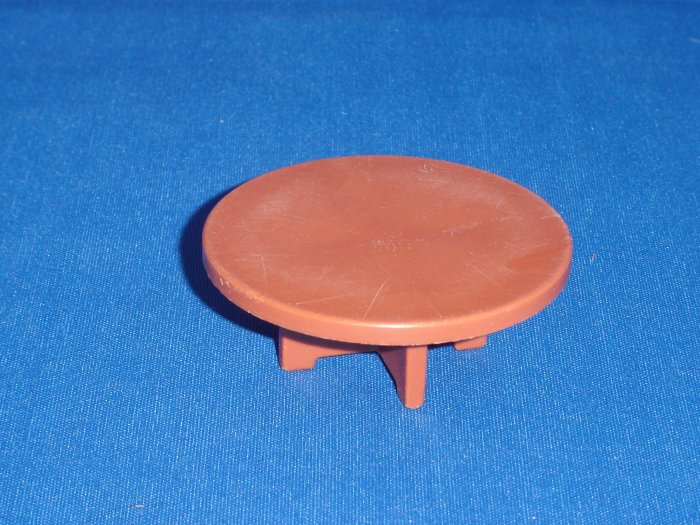 Vintage Fisher Price Little People Brown Table For the 952 Play Family House