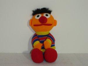 1997 Jim Henson Muppets Sesame Street ERNIE Plush Beanie 8 Inches By Tyco