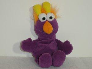 1997 Jim Henson Muppets Sesame Street PURPLE HONKER Plush Beanie 9 Inches By Tyco