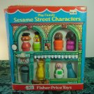 Vintage Fisher Price Sesame Street 939 Characters W Box Bert Ernie Oscar Big Bird & Hooper