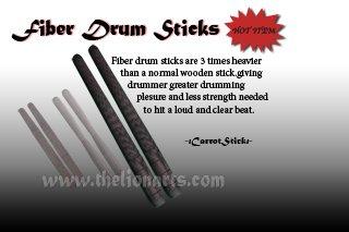 Fiber Drum Stick (Carrot)