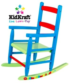 KidKraft Red Caterpillar Rocking Chair