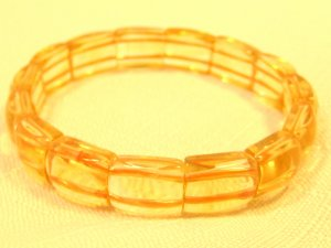 Gold crystal bracelet #2450